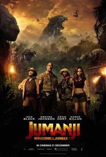 Jumanji: Welcome to the Jungle: Humorous tribute to the late Robin Williams